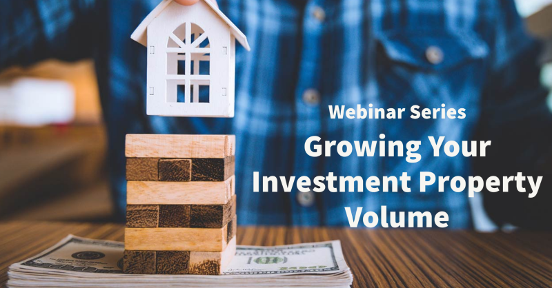 Growing Your Investment Property Value with LoanNEX Webinar Graphic
